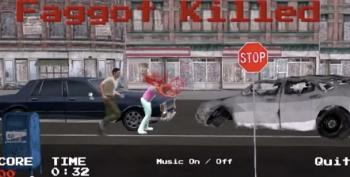 Right Wing 'Christian' Creates Video Game Called 'Kill The Faggot'