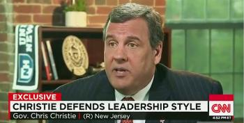 Chris Christie Doesn't Want You To Blame Him For 'Bridgegate'