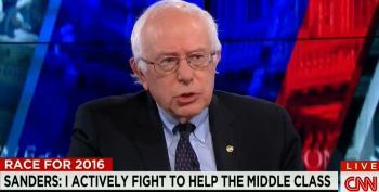Sanders Smacks Down CNN Host For Demanding Food Fight Between Him And Clinton