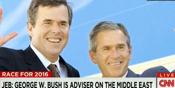 Kevin Madden Ignores The Elephant In The Room On George W. Bush Advising Jeb On Foreign Policy