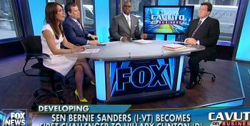 Cavuto And Crew Attack Bernie Sanders As A 'Kook'