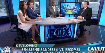 Cavuto And Crew Attack Bernie Sanders As A 'Kook'