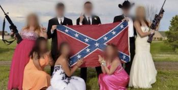 Colorado Teens Pose For Prom Pics With Confederate Flag And Assault-Style Rifles