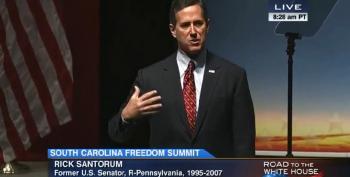 Rick Santorum: Bomb ISIS 'Back To The 7th Century'