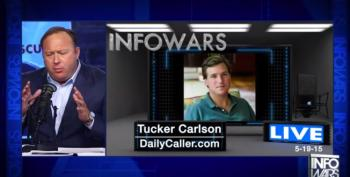 Tucker Carlson Accuses Obama Admin Of Engaging In 'Nazi Stuff' On Alex Jones Show
