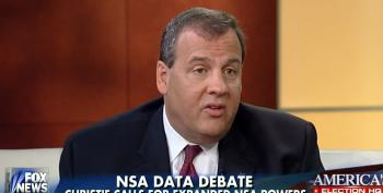 Chris Christie Attacks Rand Paul For Siding With 'Criminal' Edward Snowden