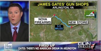Virginia Residents Protest New Gun Shop, American Dream Dies