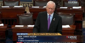 Senate Votes, 52-45, To Block Obama On Fast Track