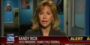 AFA Wingnut Sandy Rios: Liberals And Muslims Are Satan's Spawn
