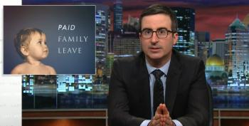For Mother's Day, John Oliver Takes On The Issue Of Paid Family Leave