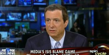 Fox's Kurtz Paints Debate On Iraq Invasion As Partisan Food Fight Between Networks
