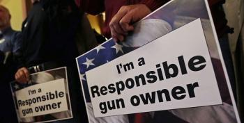 Responsible Gun Owner Leaves Gun Out, Toddler Shoots Self