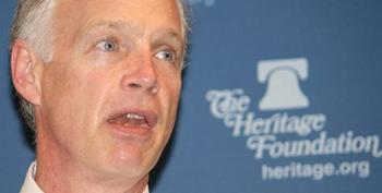 Ron Johnson  Bemoans The Constitution