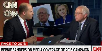 Bernie Sanders Continues To Rip The Media For Biased Campaign Coverage