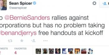 RNC Strategist's Twitter Slap Fight After Ben & Jerry Donate Ice Cream At Bernie Sanders' Event