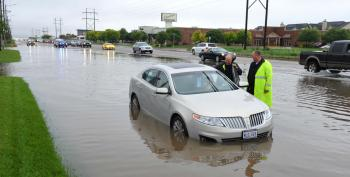 Record Rainfall Floods Oklahoma, Texas