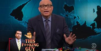 Larry Wilmore Begs His Crew Not To Celebrate George Zimmerman Being Shot In The Face