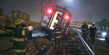 Six Now Dead, Eight In Critical Condition After Amtrak Derailment