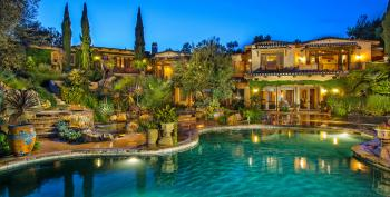 Rich Conservative Californians Thumb Noses At Water Restrictions