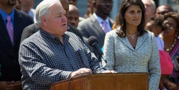 Haley To Call For Removal Of Confederate Flag At Capitol. Barn Door, Horse, Etc.
