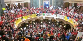 Protesters Win Court Award Against Walker's Wisconsin