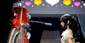 New Winger Worry: Robot Weddings?