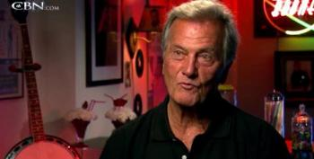 Pat Boone Orders Our 'Half-White' President To Quit Talking About Race