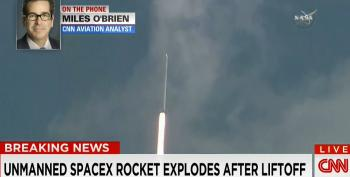 Elon Musk's SpaceX Rocket Explodes After Launch