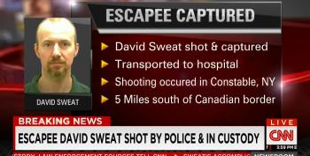 Escaped Inmate David Sweat Shot Near Canadian Border