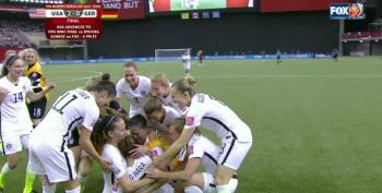 USA Vs Germany 2015 Women's World Cup Semi Final: Open Thread UPDATED 1,2,3,4,5,6, USA Wins 2-0!