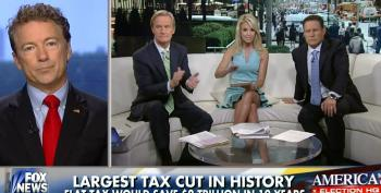 Fox Cheers On Rand Paul's Flat Tax Proposal