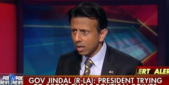 Jindal: It's Impossible For Government To Eradicate Evil! (Except When Evil Is Muslim)