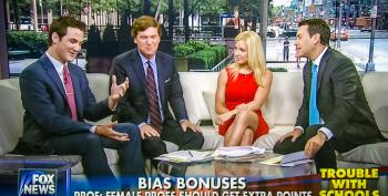 Fox News Host Calls Women A 'Biological Accident' To Argue Against Correcting Gender Bias