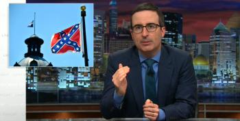 John Oliver Has A Suggestion For States Flying Confederate Flag