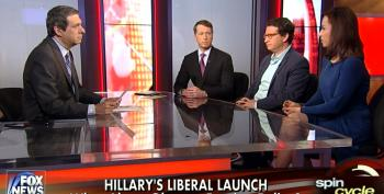 Howard Kurtz Upset That Hillary Gave A Democratic Speech And The Media Didn't Attack Her