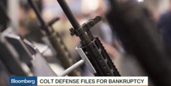 U.S. Gunmaker Files For Bankruptcy