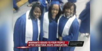 Freepers Endorse Arrest Warrants For Family That Cheered At High School Graduation