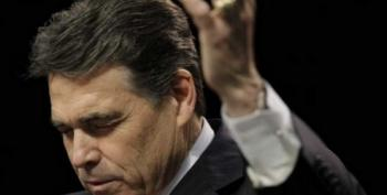 'American Sniper' Wife Endorses Rick Perry Because He's Humble