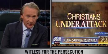 Bill Maher Slams Right Wingers For Playing The Poor Persecuted Christian Card