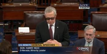 Reid And McConnell's Cat Fight On The Senate Floor