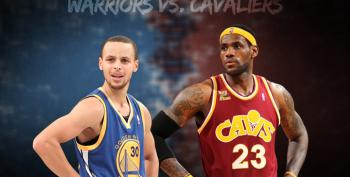 Warriors Roll Past Cavaliers, Tie Series At 2-2