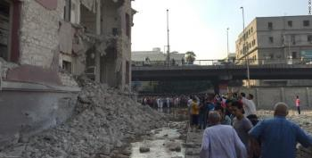 Car Bomb Explodes At Italian Embassy In Cairo
