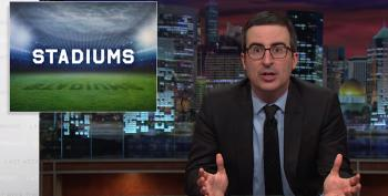 John Oliver Explains Why The Taxpayers Should Not Be Paying For New Sports Stadiums