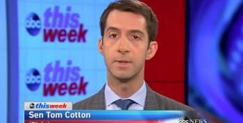 Tehran Tom Cotton Still Working Hard For War With Iran