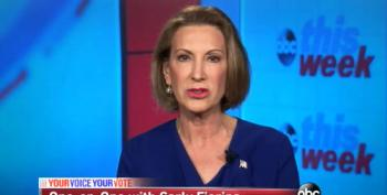 Carly Fiorina Pretends She Cares About Income Inequality