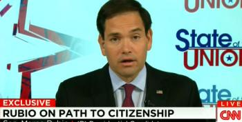 Marco Rubio Pretends He Never Flip-Flopped On Immigration