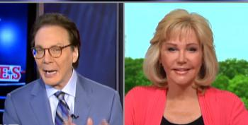 Sandy Rios Warns Alan Colmes That God Is Angry At America