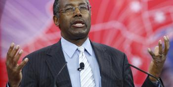 Ben Carson Freaks Out, Says Obama Trying To Start Race Wars