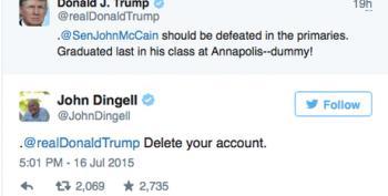 'The Dean Of Twitter' John Dingell Pwns Donald Trump