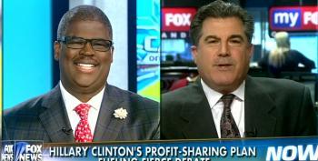 Fox Pundits Attack Clinton's Profit Sharing Proposal